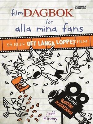 cover image of Filmdagbok för alla mina fans