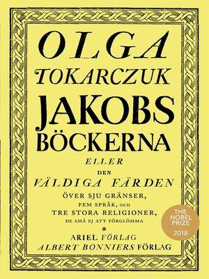 cover image of Jakobsböckerna