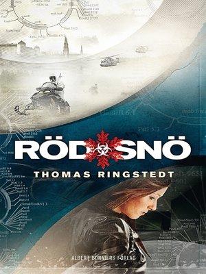 cover image of Röd snö