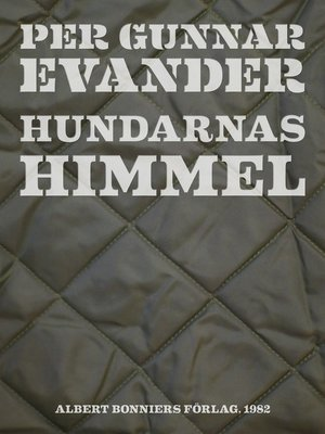 cover image of Hundarnas himmel