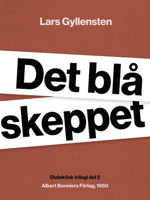 cover image of Det blå skeppet