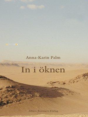 cover image of In i öknen