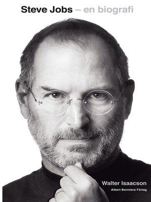 cover image of Steve Jobs--en biografi