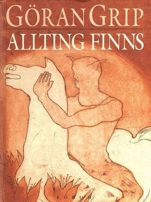 cover image of Allting finns