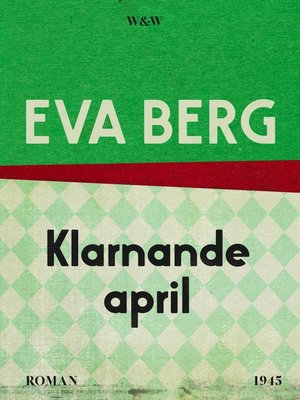 cover image of Klarnande april