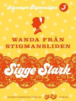 cover image of Wanda från Stigmansliden