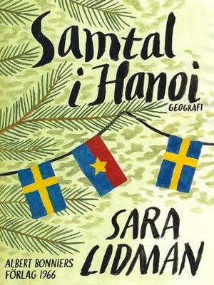 cover image of Samtal i Hanoi