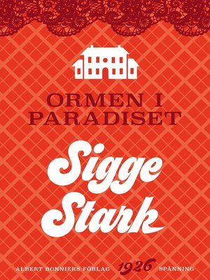 cover image of Ormen i paradiset