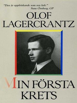 cover image of Min första krets