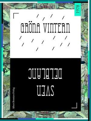 cover image of Gröna vintern