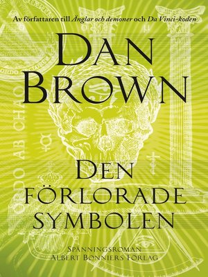 cover image of Den förlorade symbolen