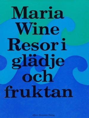 cover image of Resor i glädje och i fruktan