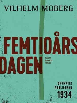 cover image of Femtioårsdagen