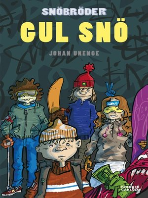 cover image of Gul snö