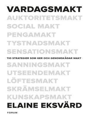 cover image of Vardagsmakt