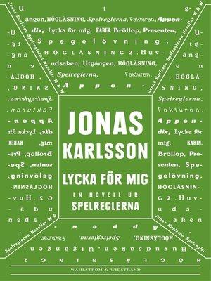 cover image of Lycka för mig