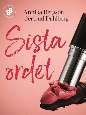 cover image of Sista ordet S1E4