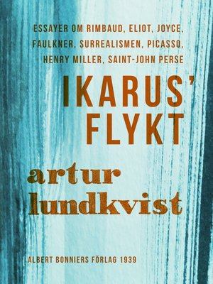 cover image of Ikarus' flykt