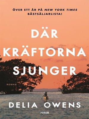 cover image of Där kräftorna sjunger