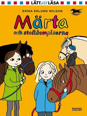 cover image of Märta och stallkompisarna