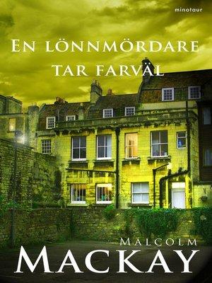 cover image of En lönnmördare tar farväl