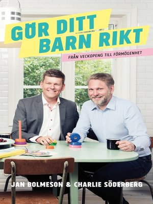 cover image of Gör ditt barn rikt