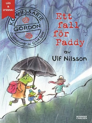 cover image of Kommissarie Gordon. Ett fall för Paddy (e-bok + ljud)