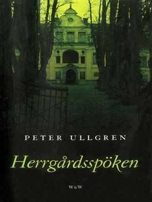 cover image of Herrgårdsspöken