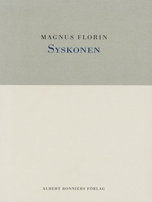 cover image of Syskonen