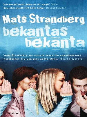 cover image of Bekantas bekanta