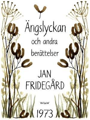 cover image of Ängslyckan och andra berättelser