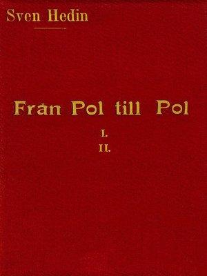 cover image of Från pol till pol