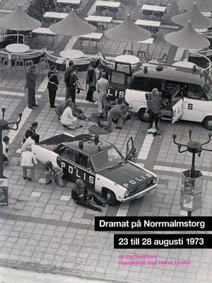 cover image of Dramat på Norrmalmstorg