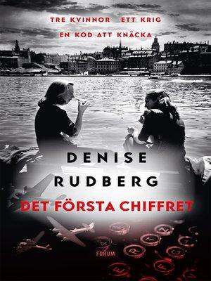 cover image of Det första chiffret