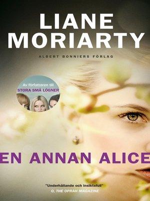 cover image of En annan Alice