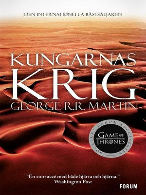 cover image of Kungarnas krig