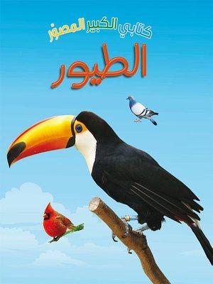 cover image of كتابي الكبير المصور الطيور