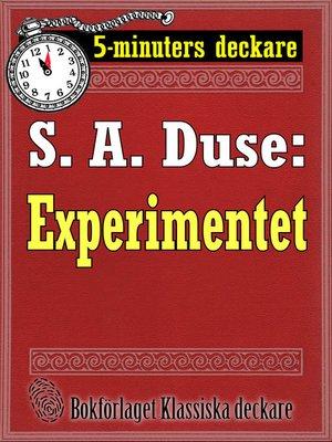 cover image of Experimentet. Berättelse