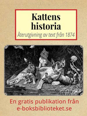 cover image of Kattens historia