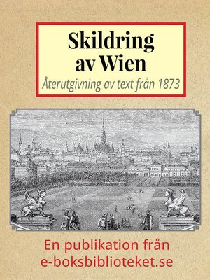 cover image of Skildring av Wien
