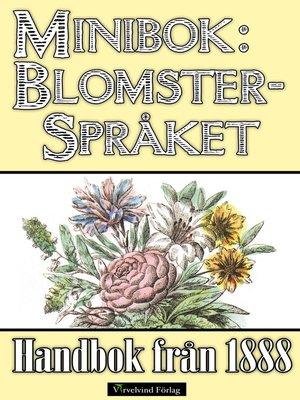 cover image of Minibok: Blomsterspråket