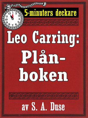 cover image of 5-minuters deckare. Leo Carring: Plånboken. En historia