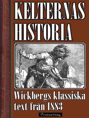 cover image of Kelternas historia