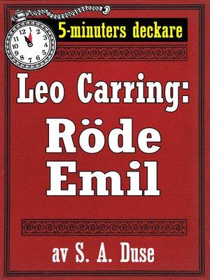 cover image of 5-minuters deckare. Leo Carring: Röde Emil. Detektivhistoria