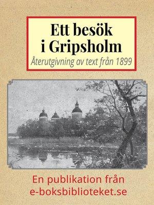 cover image of Ett besök i Gripsholms slott