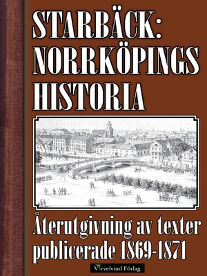 cover image of Norrköpings historia