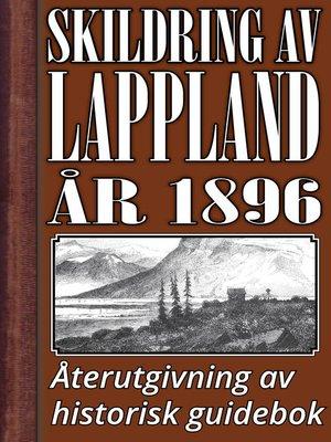 cover image of Skildring av Lappland