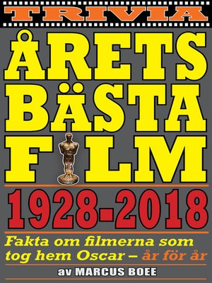 cover image of Årets bästa film 1928–2018