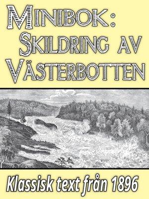 cover image of Skildring av Västerbotten