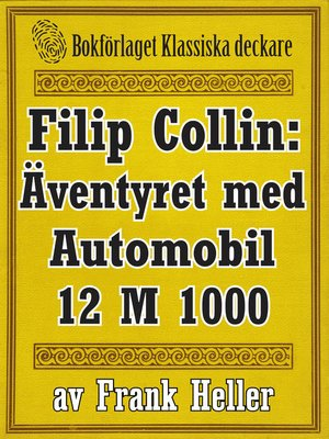 cover image of Filip Collin: Automobilen 12 M 1000